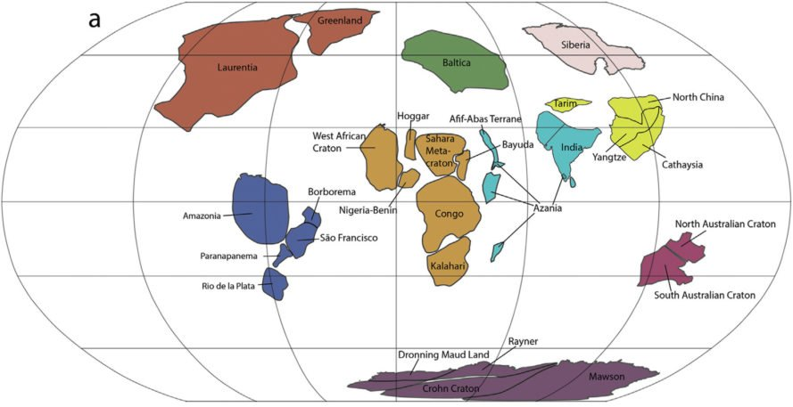 New Map Of Earth.New Map Provides Clues Into 500 Million Year Mystery In Earth S Past