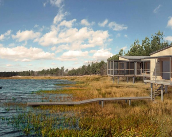 Splinter Creek, Spliner Creek, concept house, Lake Flato, Lang Architecture, The Loch Collective, rustic house, Mississippi, green architecture, native grasses, agrarian buildings, green lifestyle