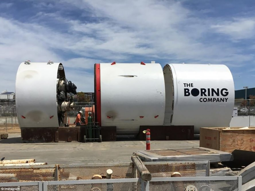 The Boring Company, Boring Company, Elon Musk, Musk, Los Angeles, Godot, tunnel, tunnels, boring, boring machine, tunnel boring machine, infrastructure