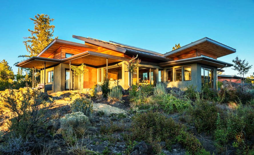 Oregon couple spends years building their net zero for Dream home construction