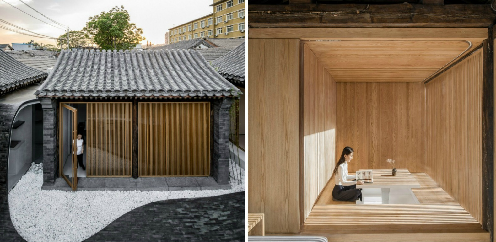 This Mind Blowing Home S Undulating Courtyard Lifts Up To
