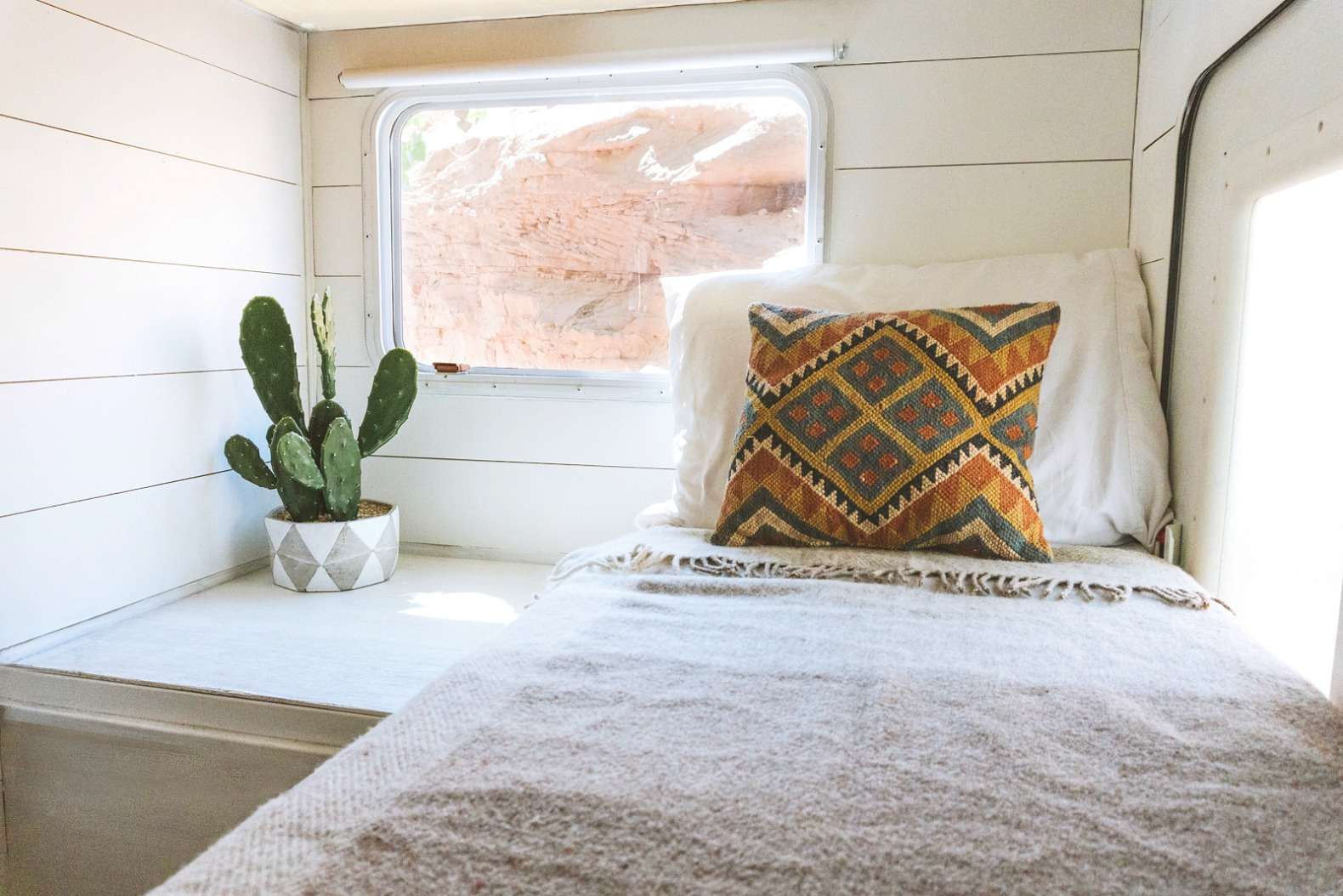 30 Foot Camper Transformed Into A Nomadic Haven With Surprisingly Swanky Interior