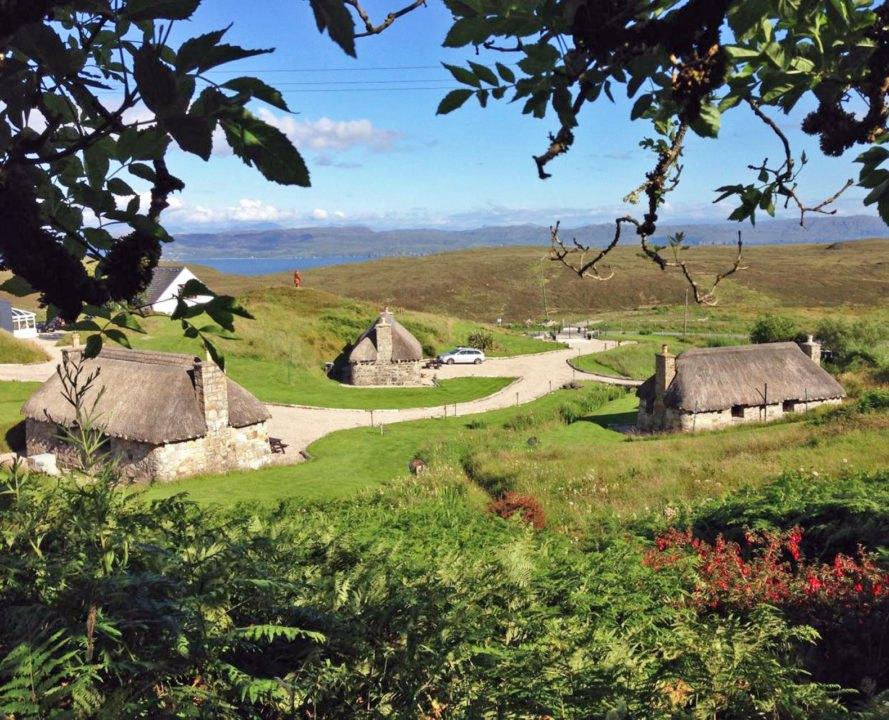 Isle of Skye, Mary's Cottage, for sale, Scotland, village, Strutt and Parker, architecture,