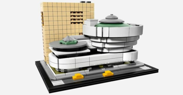 LEGO celebrates Frank Lloyd Wright's 150th birthday with Guggenheim Museum kit