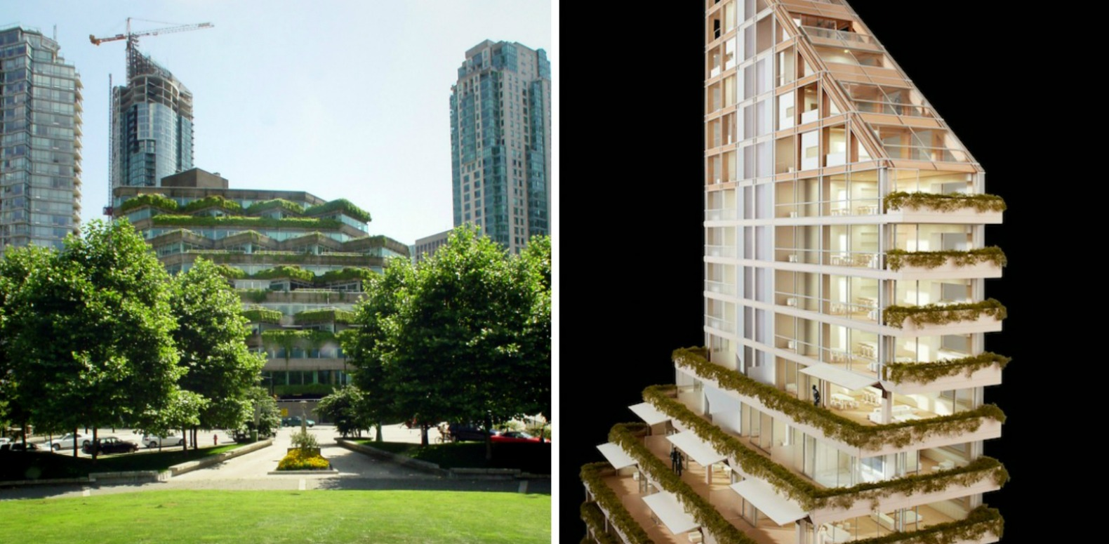 Shigeru ban architects unveil plans for the world s for Terrace building