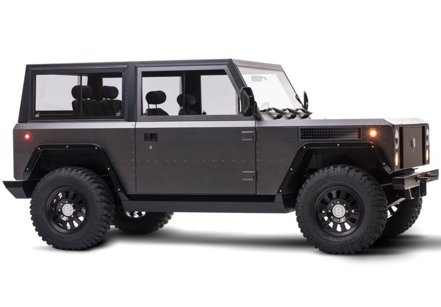 The World 39 S First All Electric Sport Utility Truck Is