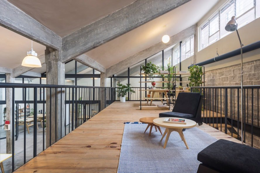 Beautiful Co Working Space Takes Over A Former Industrial