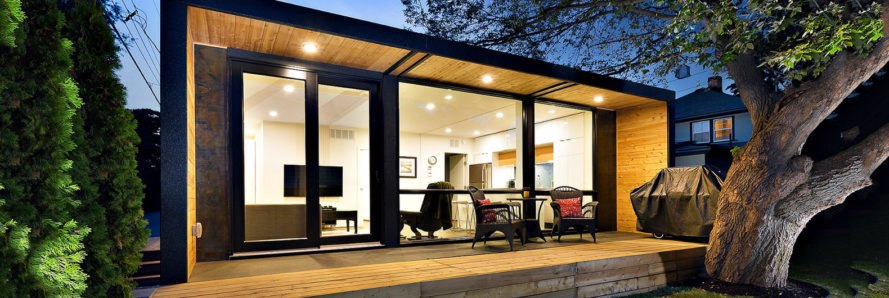 Honomobo shipping container home inhabitat green for Log home cost estimator