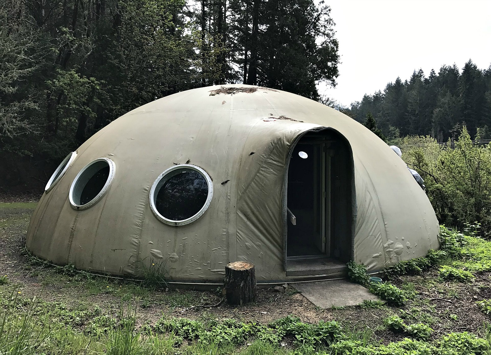 This Oregon Dome Home Could Be Yours If Aliens Don T