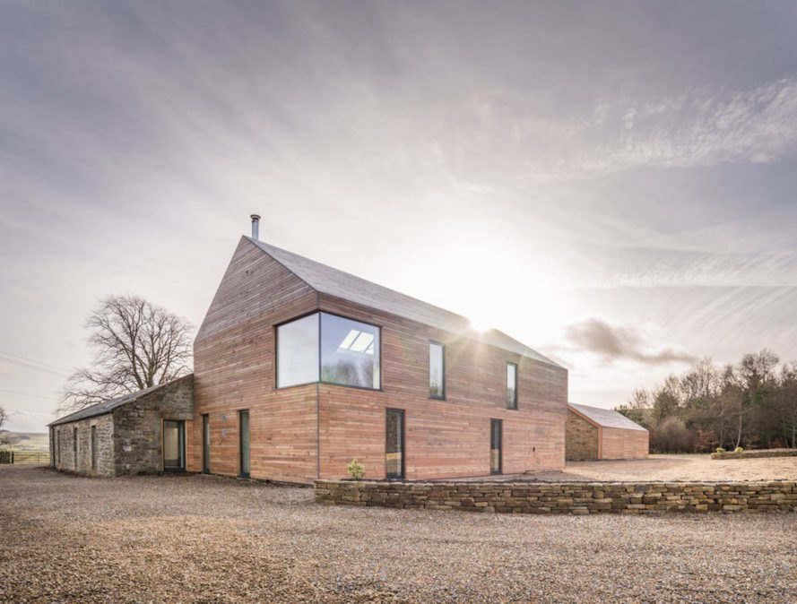 Shawm House by Richard Pender, Shawm House by MawsonKerr Architects, Shawm House Northumberland, shawm house passivhaus, airtight Northumberland architecture, Northumberland self built home, Northumberland sustainable architecture, UK sustainable architecture, custom home to age in place
