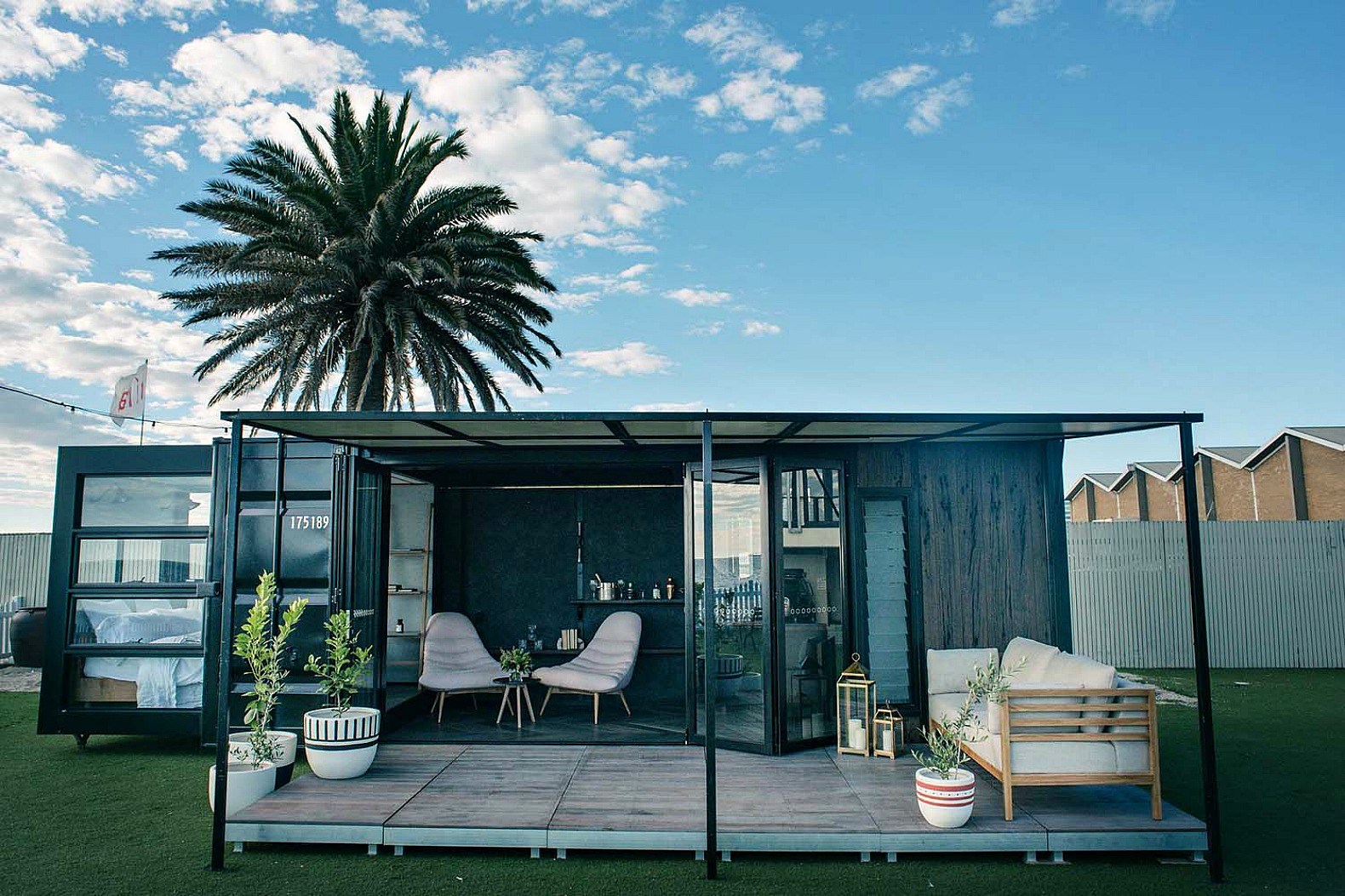 This shipping container hotel is so cool you 39 ll forget its for Houses for sale with suites