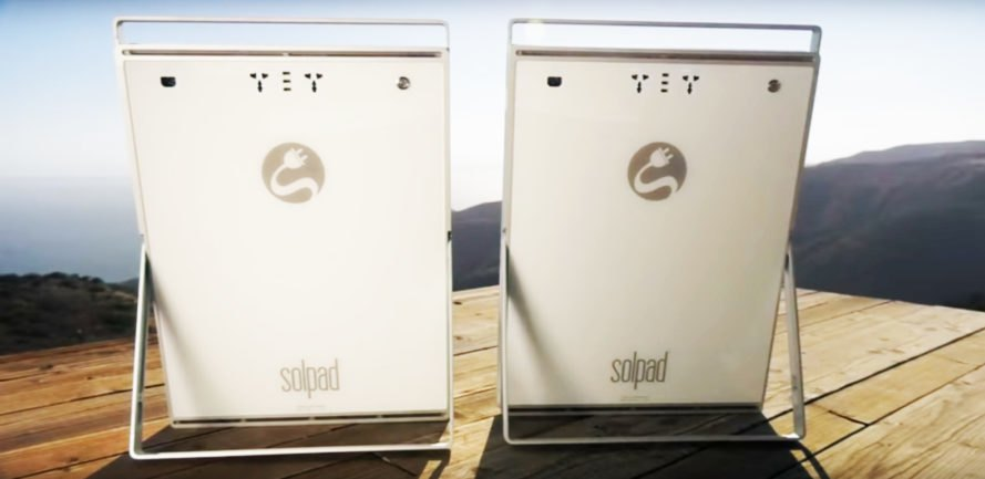 SolPad, solar, technology, off-grid, sustainability, mobile, fully-integrated, California,