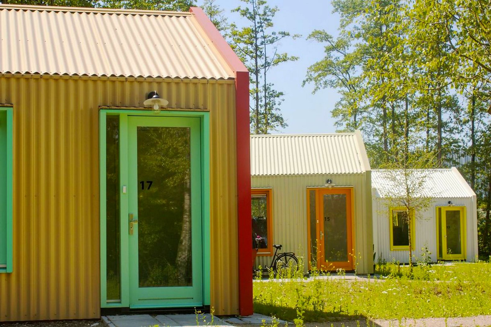 Studio Elmo Vermijs Designs Tiny House Village For Homeless In The