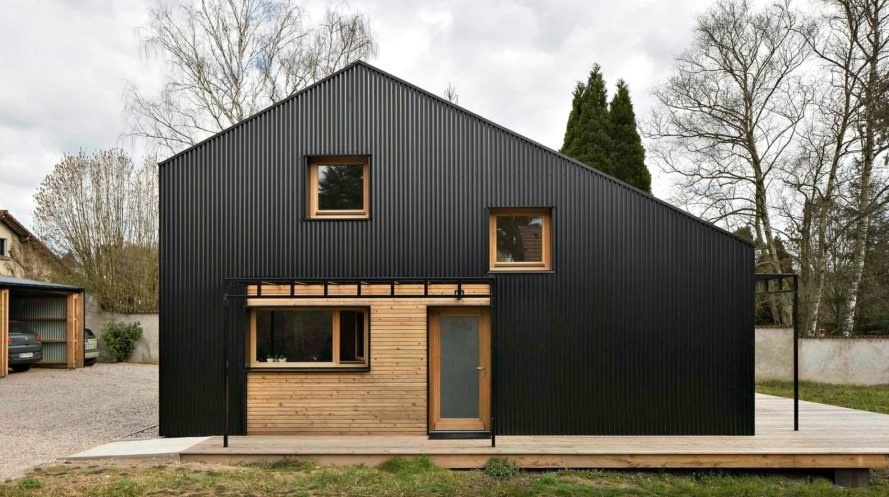 Open Source House, Studiolada Architects, Wooden Homes, Efficient Home  Design, French Architecture