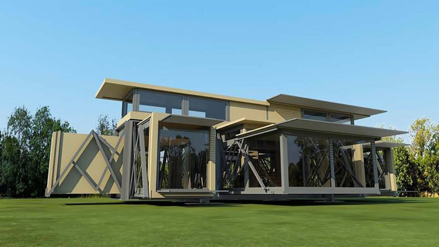 These incredible self deploying buildings pop up in 8 for House structures pictures
