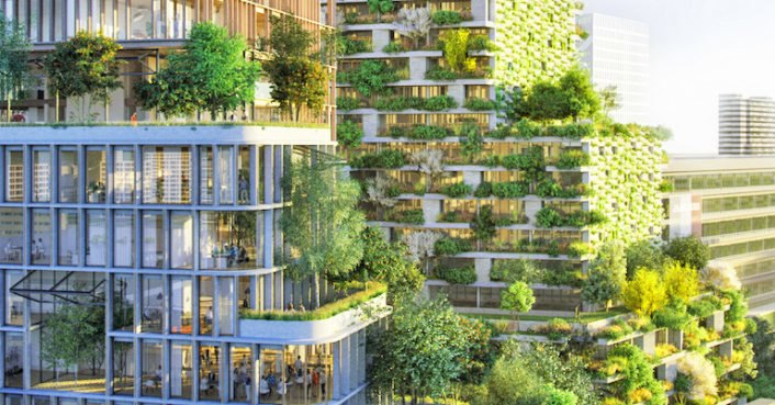 The Netherlands' first Vertical Forest to rise with 10,000 air-purifying plants