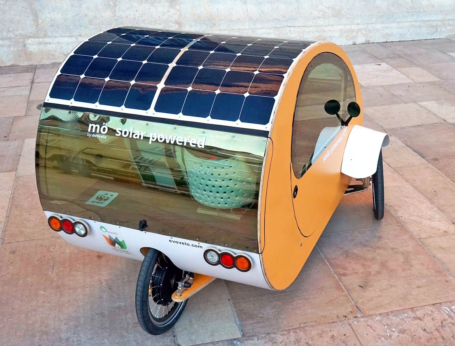 Evovelo unveils cute little solar car you can pedal like a bicycle