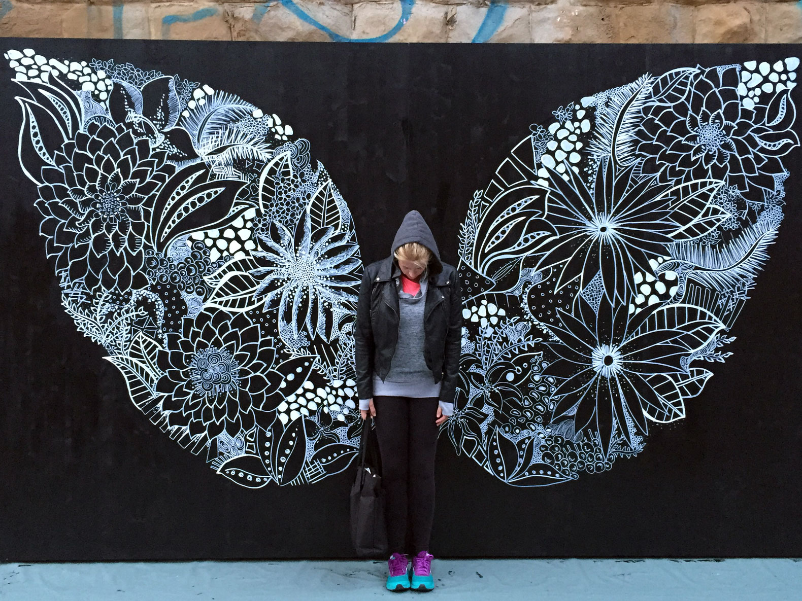 Gorgeous billboards by street artist Kelsey Montague are being recycled into one-of-a-kind bags
