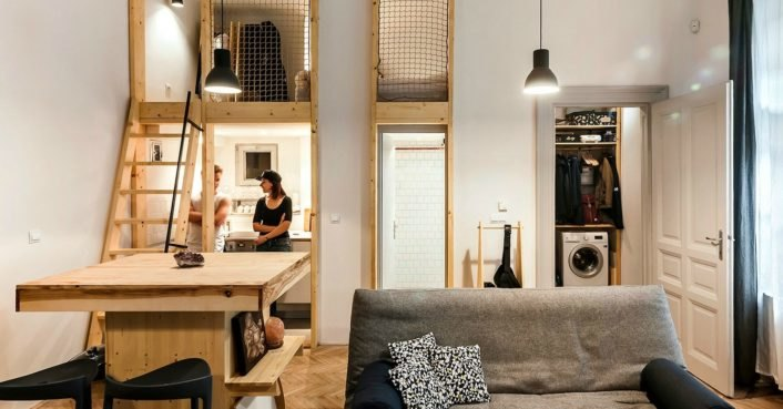 Cool Micro Studio In Budapest Makes The Most Out Of 344