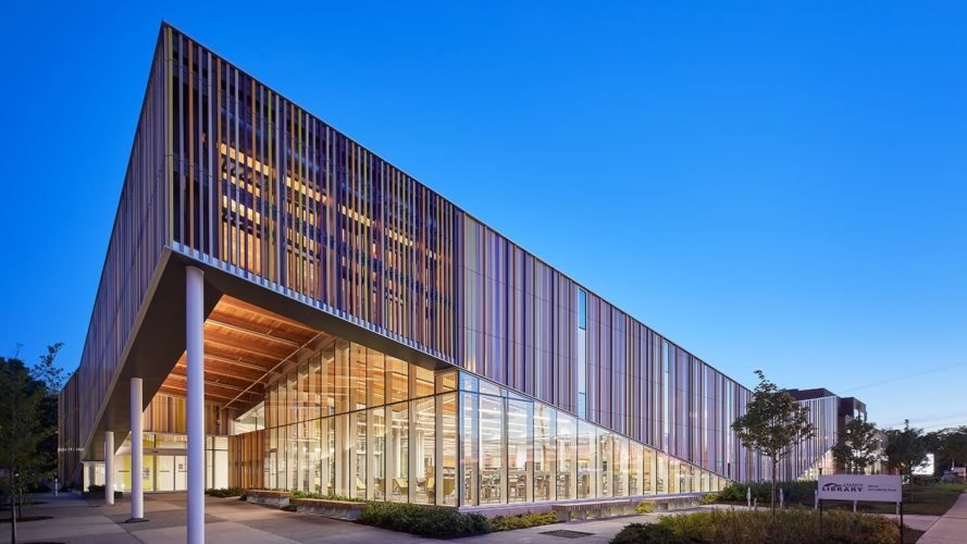 Albion District Library by Perkins+Will, contemporary library architecture, Albion Library Toronto, Albion library architecture, green-roofed libraries, Rexdale library Toronto, Maker Space Toronto Library, 3D printer in library Toronto