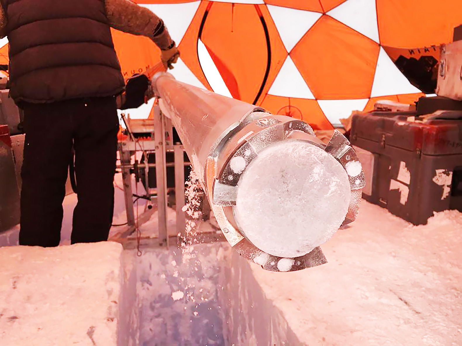 Oldest ice core ever dated reveals hidden clues to ancient Earth's atmosphere
