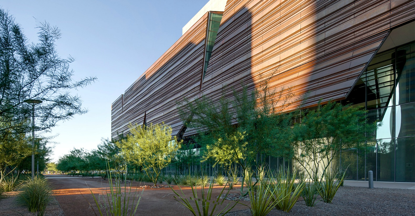 Canyon Inspired Research Center In Phoenix Clad In