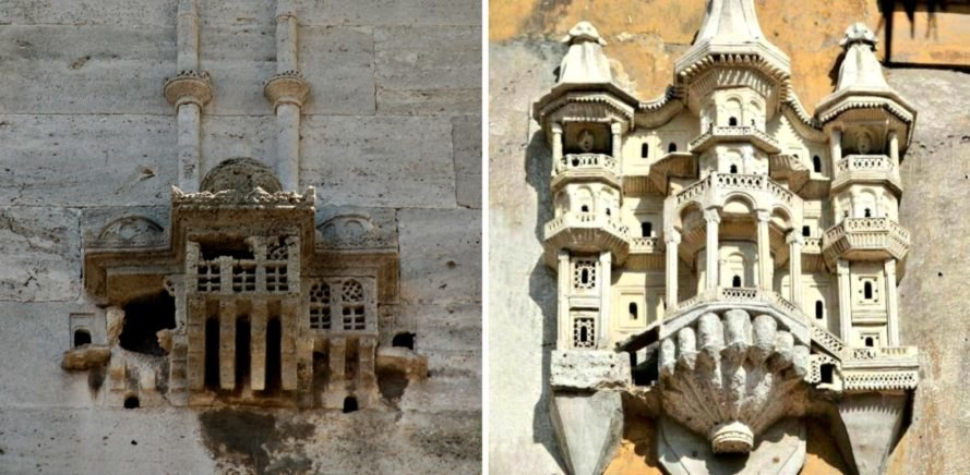 Turkish birdhouses, architecture, birdhouses, birds, Turkish architecture, ottoman empire, birdhouses turkish palaces, birdhouse design, small architecture, mini architecture, mini birdhouses, ornate home design, tiny birdhouses,