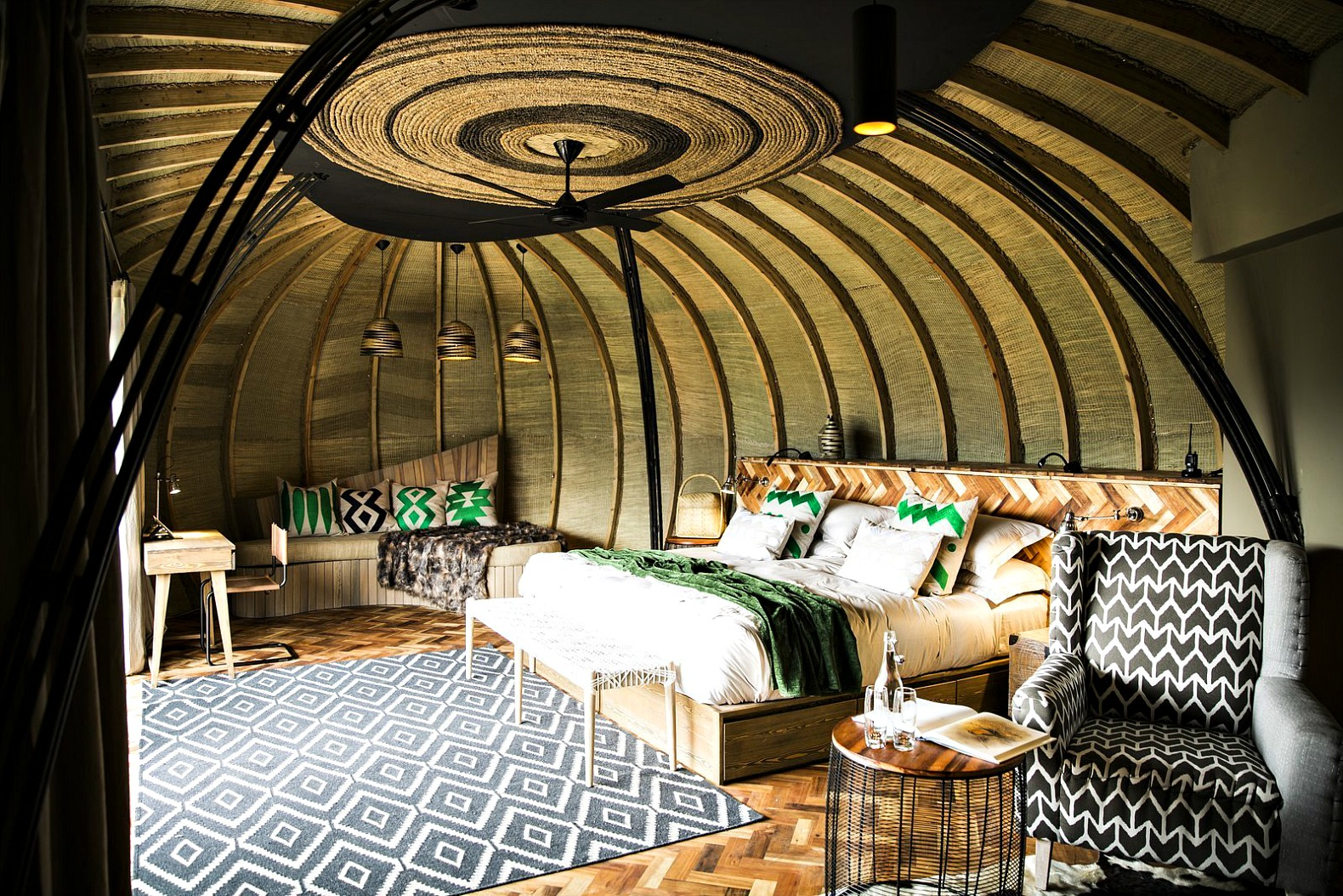 Bisate Lodge: A Rwandan Eco-Retreat Built Into An Eroded Volcano