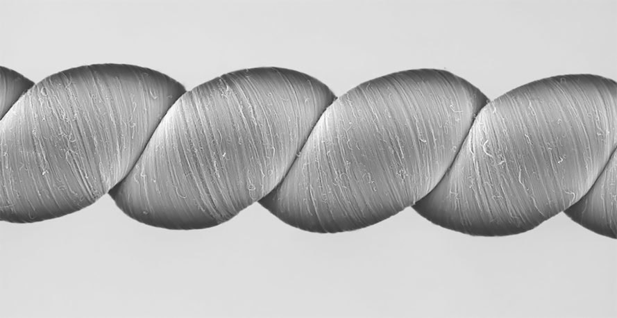 Yarn, carbon nanotube yarn, carbon nanotubes, electricity, twistron harvesters, power, energy, energy harvesting, science, design, wave power, wave energy, current