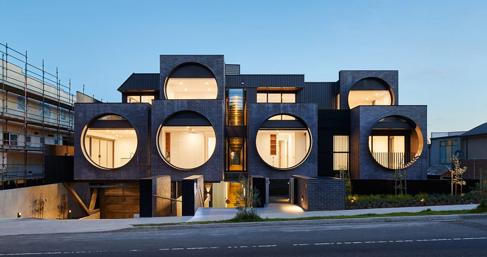 Huge Circular Windows Flood The Interior Of This Funky Apartment Block In  Melbourne With Natural Light. BKK Architects Designed The Cirqua Apartments  As A ...