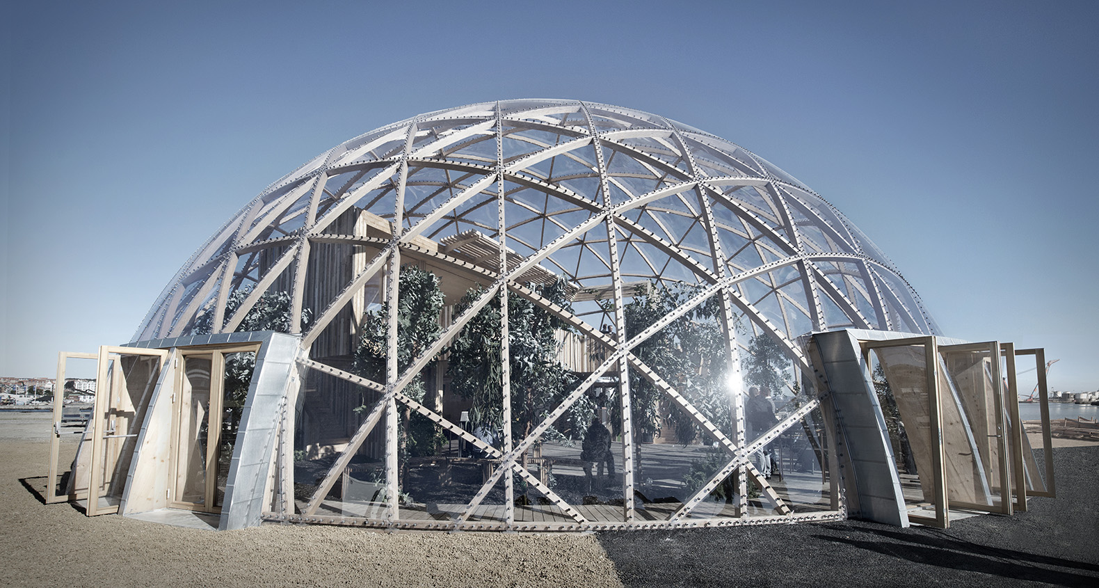 Spectacular 39 Dome Of Visions 39 Greenhouse Pushes The