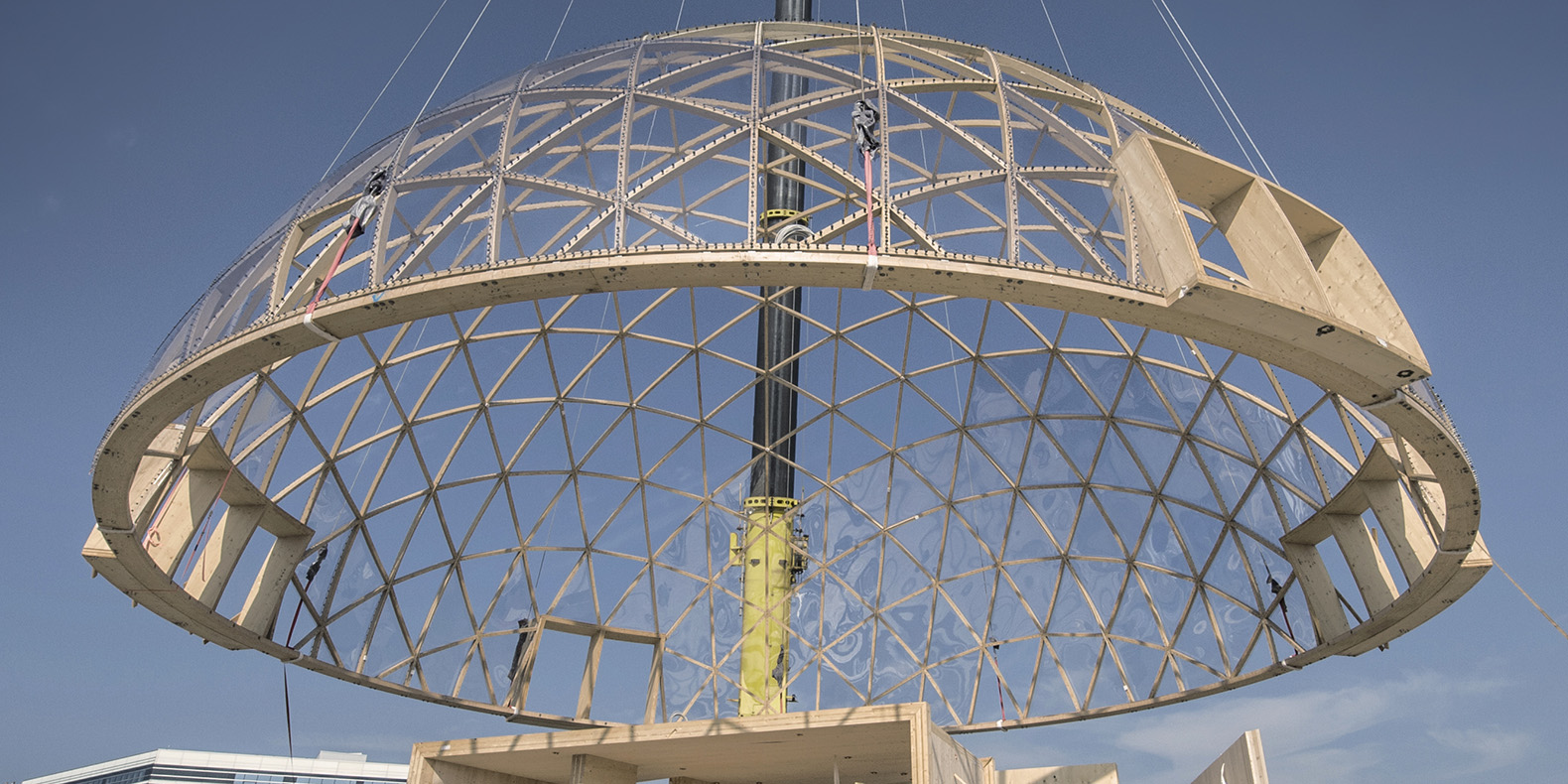 Spectacular Dome Of Visions Greenhouse Pushes The