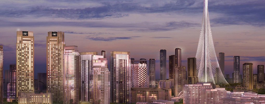 Where Can I Buy A Tiny House >> New Dubai Creek Tower images show progress on the next ...