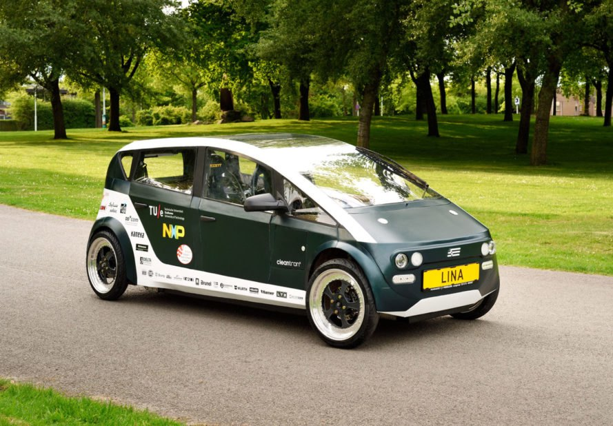 biodegradable, car, beet sugar, flax, Eindhoven University of Technology, global warming, eco-friendly, environmentally-friendly, green transportation, green car, sustainable transportation, biodegradable car