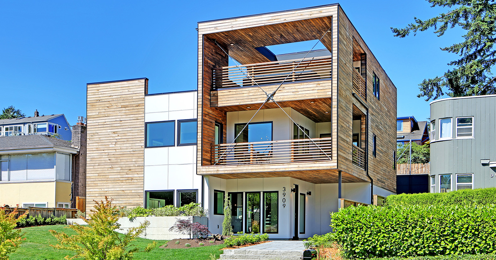 Net zero genesee park residence in seattle is built out of Built in seattle