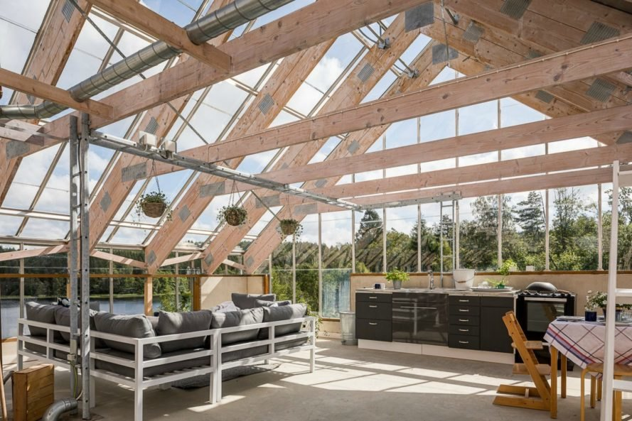 Gorgeous solar-powered greenhouse home in Sweden hits the market ...
