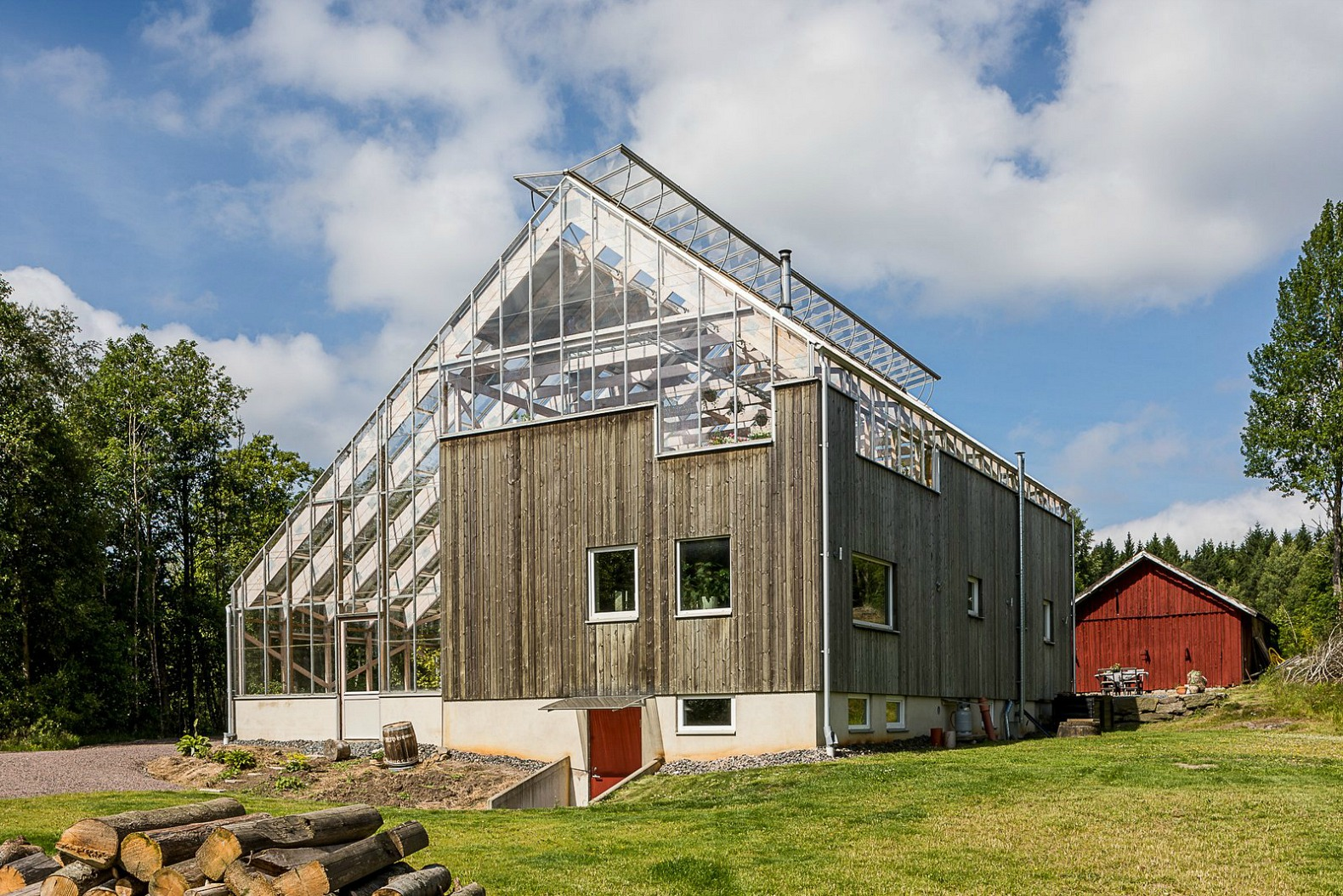 Attrayant Swedish Greenhouse, Greenhouse Home, Gothenburg Greenhouse, Greenhouse  Living, Greenhouse Home Design,