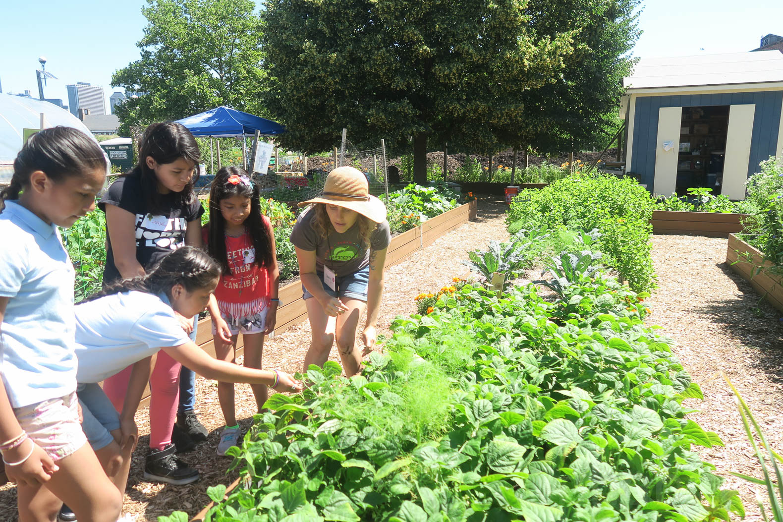 Vegetable Garden For Kids Part - 48: Inspiring Urban Farm Teaches Kids How To Grow Their Own Organic Food