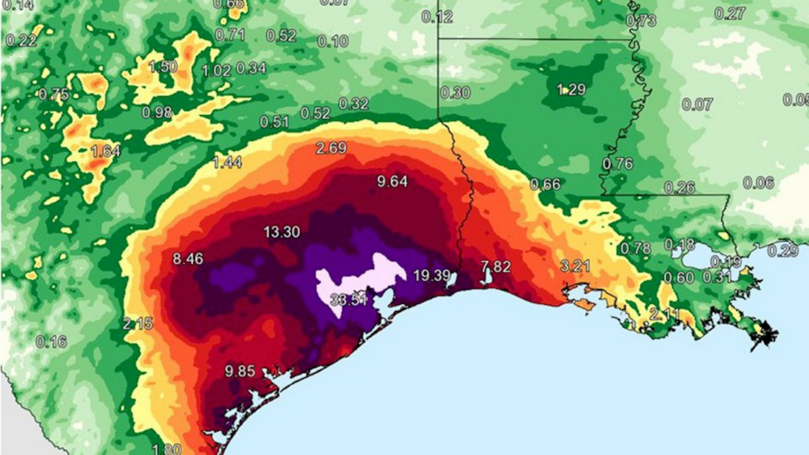 Harvey forces National Weather Service to add new color to its ...