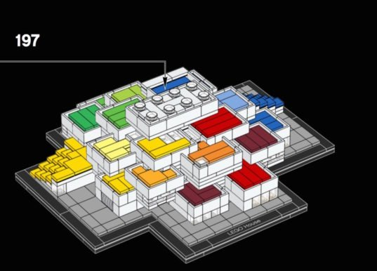 Build Your Own Big Designed Lego House With Lego