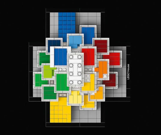 how to build a lego house