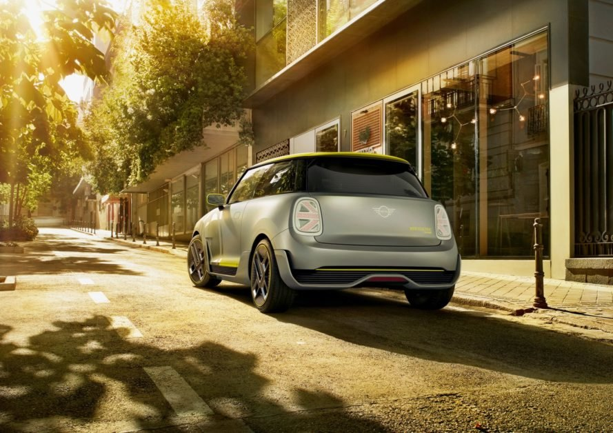 MINI, MINI Electric Concept, 2017 Frankfurt Motor Show, Frankfurt Motor Show, 2019 MINI EV, MINI Electric Car, MINI E, green car, green transportation, automotive, electric car