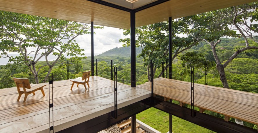 Benjamin Garcia Saxe, Ocean Eye house, Costa Rica, WAN Awards, jungle, terraces, jungle, green architecture, lightweight structure