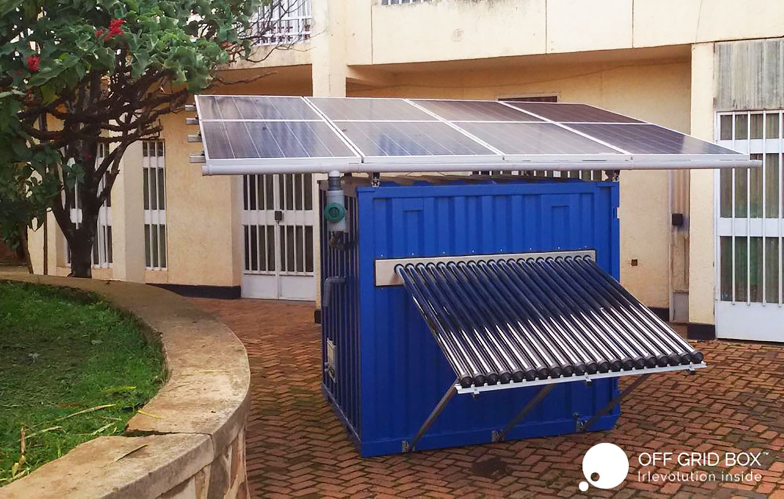 Compact Offgridbox Provides Drinking Water And Power Where