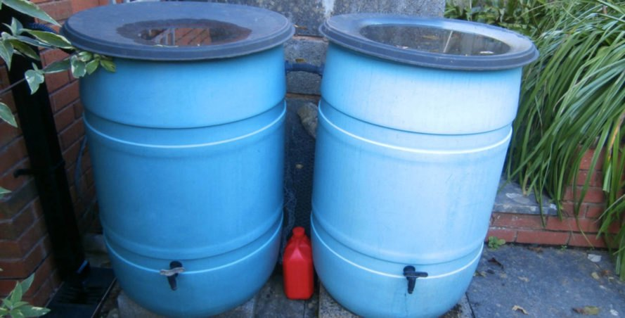 rain barrels, rainbarrels, trashcan rain barrels, rainwater collection