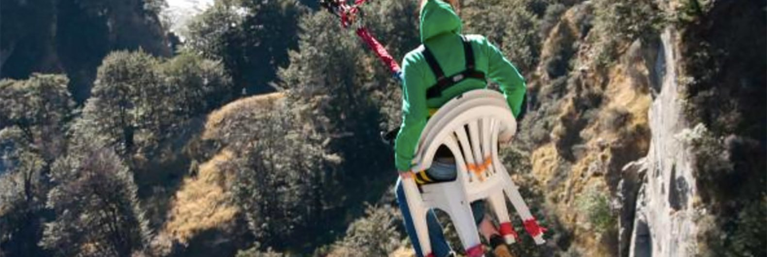 Ride The Chair Of Death On World S Highest Cliff Drop Swing