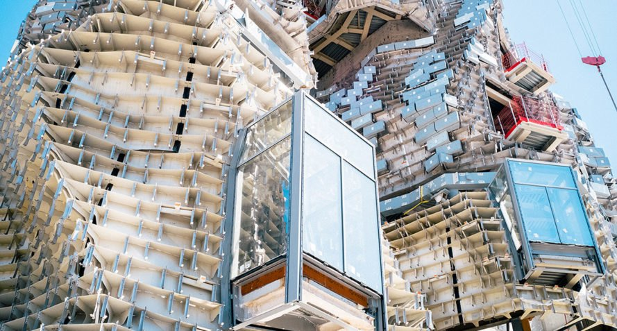 Frank Gehry, Gehry Partners, LUMA Arles, green tower, France, Selldorf Architects, Bas Smets, cultural complex, rehabilitation, artist's studio, stainless steel, LUMA Foundation