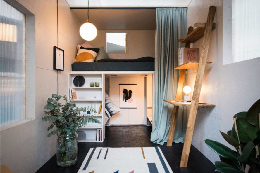 The SHED Projects affordable micro homes pop up in just one day