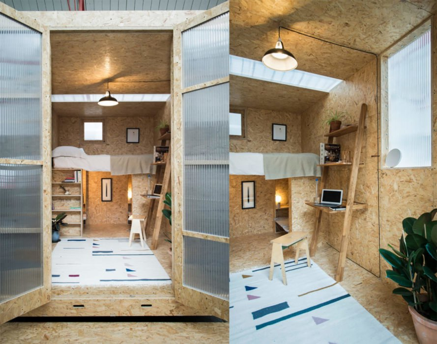 The Shed Project'S Affordable Micro-Homes Pop Up In Just One Day