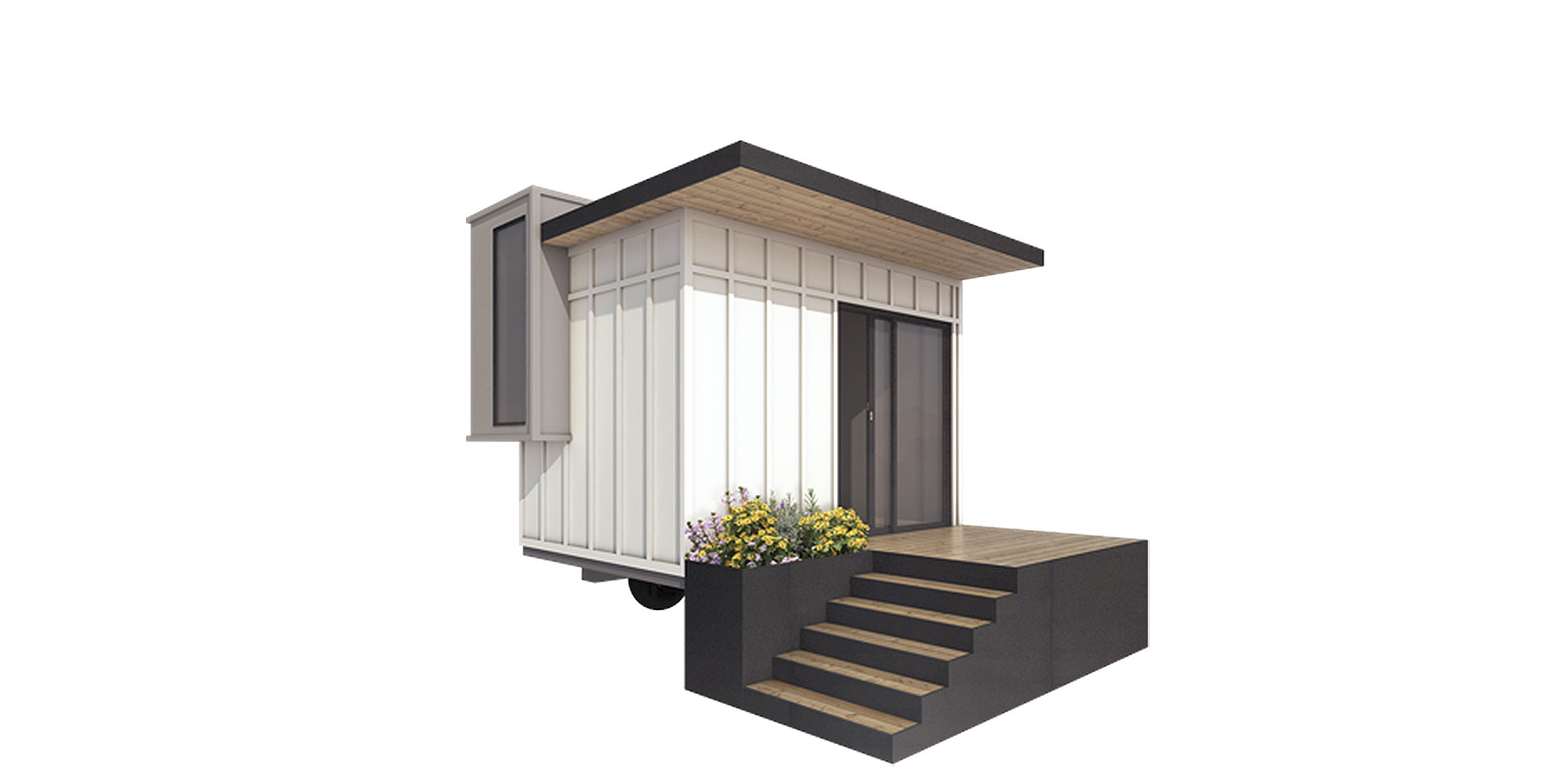 You can build one of these tiny backyard offices in less ...